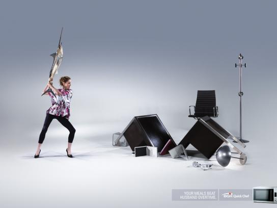 BGH Print Ad -  Swordfish