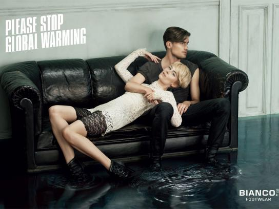 Bianco Print Ad -  Please stop global warming, 3
