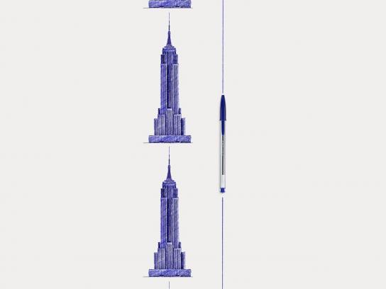 BIC Print Ad -  Empire State Building