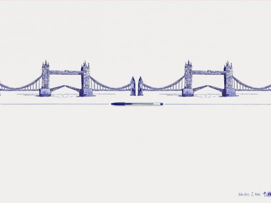 BIC Print Ad -  Tower bridge
