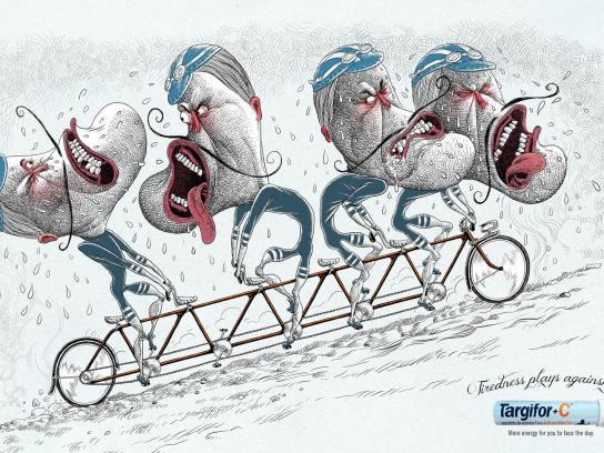 Targifor Print Ad -  Bicycle
