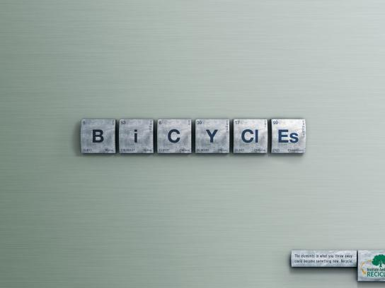Instituto Ambiental Reciclar Print Ad -  Bicycles
