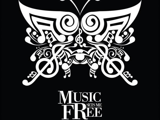 Big FM Print Ad -  Butterfly