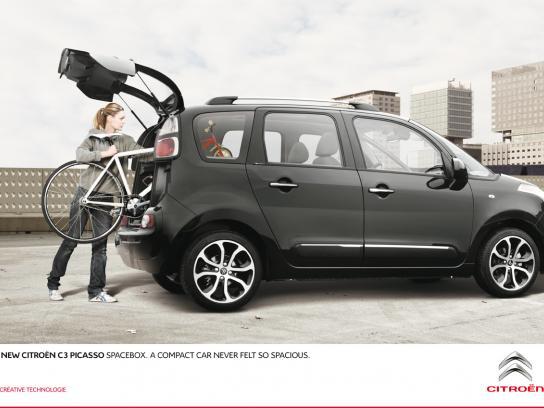 Citroën Print Ad -  Bike