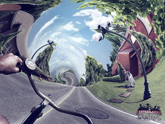 Fantasilandia Print Ad -  Bike