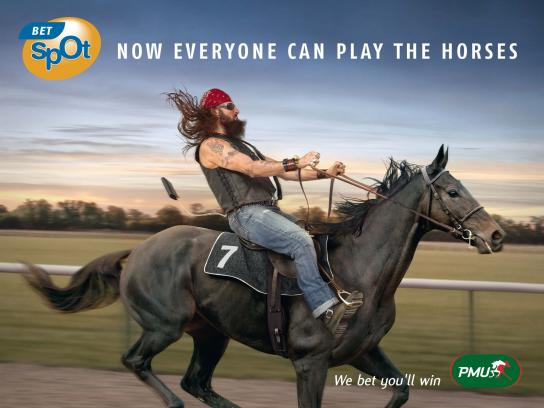 PMU Outdoor Ad -  Biker