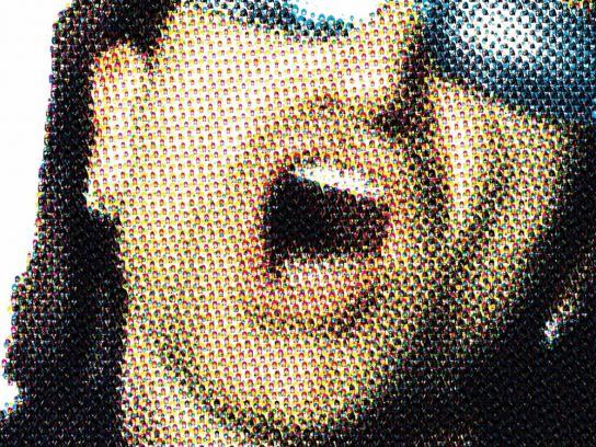 Billboard Print Ad -  Bono