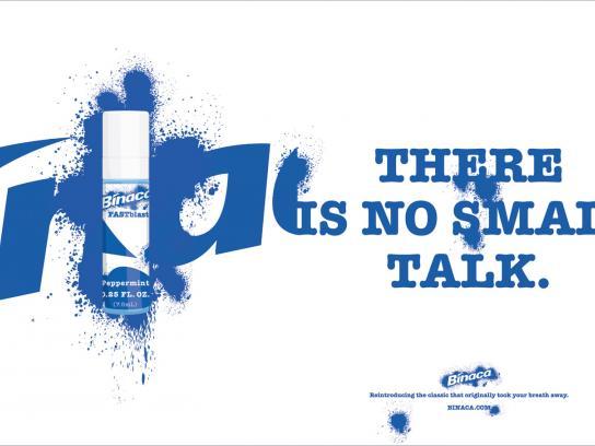 Binaca Print Ad -  Small talk