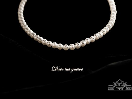 Bingo Print Ad -  Pearls