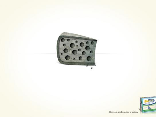 Biomilk Print Ad -  Cheese