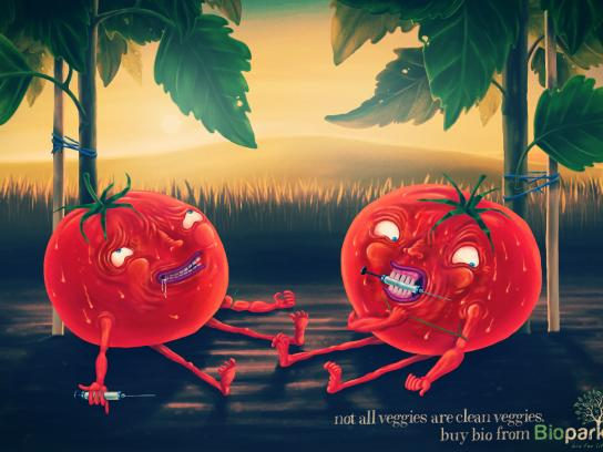 Biopark Print Ad -  Tomatoes