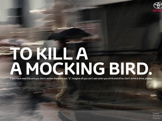 Toyota Print Ad -  Bird