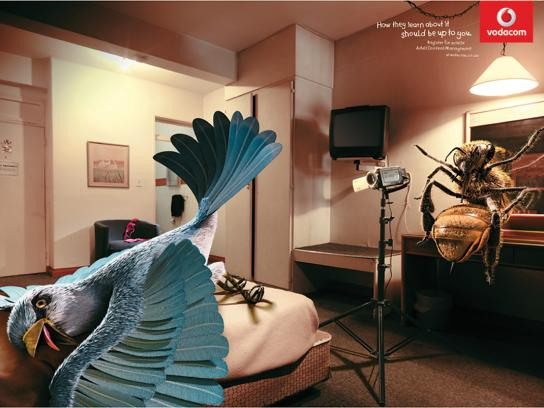 Vodacom Print Ad -  Bedroom