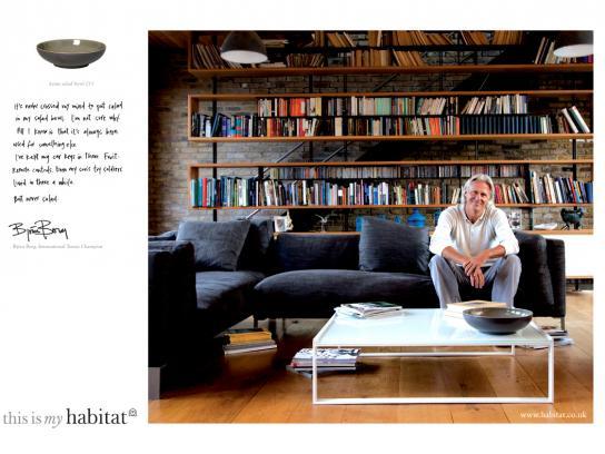 Habitat Print Ad -  Bjorn