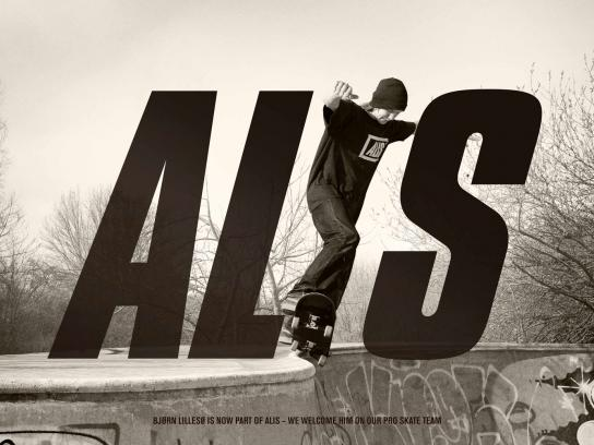 Alis Print Ad -  Bjørn Lillesø is now part of Alis