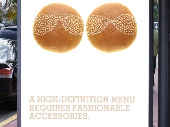 Burger King Outdoor Ad -  Designer Sunglasses