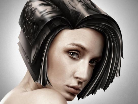 Estetica Magazine Print Ad -  Black