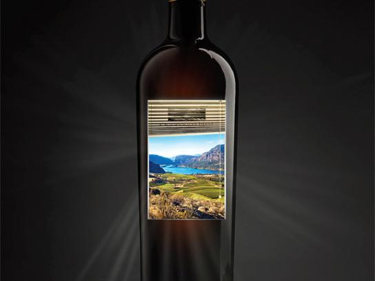 The Wines of British Columbia Print Ad -  Blind