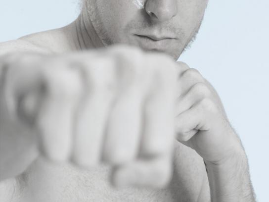 Blu52 Print Ad -  Karate