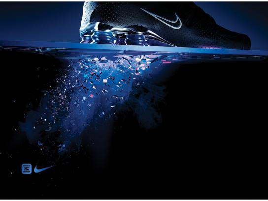 Nike Outdoor Ad -  Blue