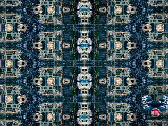 Fiat Print Ad -  City Plain, Blue
