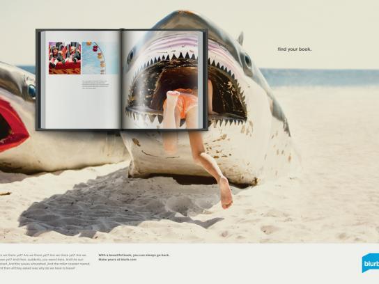 Blurb Print Ad -  Shark