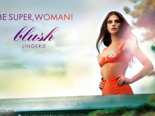Blush Print Ad -  Summer, Orange