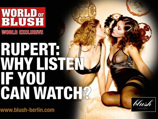 Blush Print Ad -  Watch