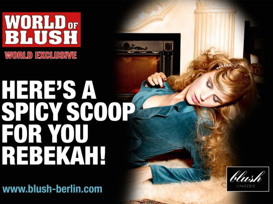 Blush Print Ad -  Scoop