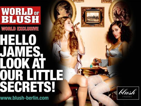 Blush Print Ad -  Secrets