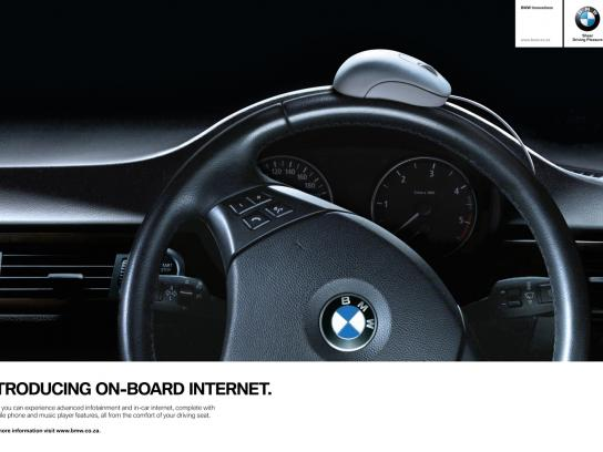 BMW Print Ad -  Mouse digital