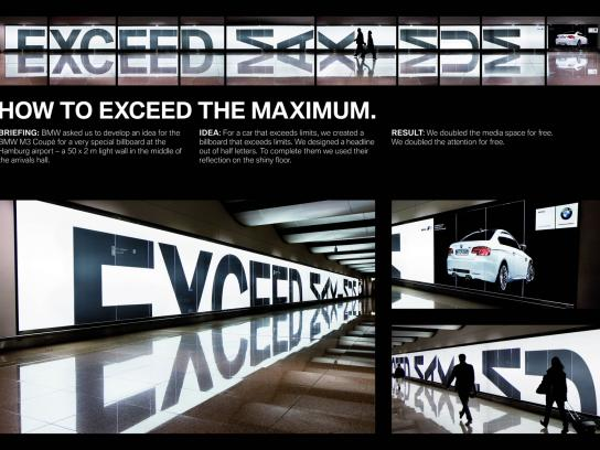 BMW Ambient Ad -  The Light Wall Reflection