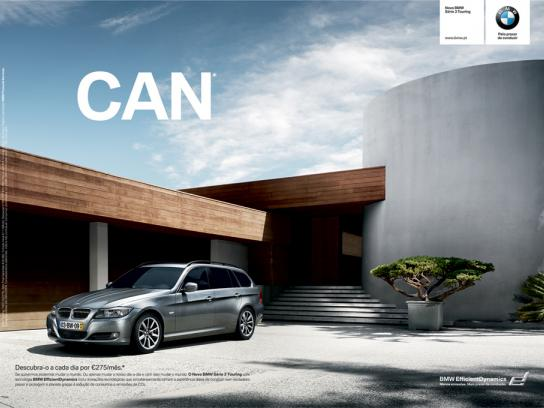 BMW Print Ad -  Can