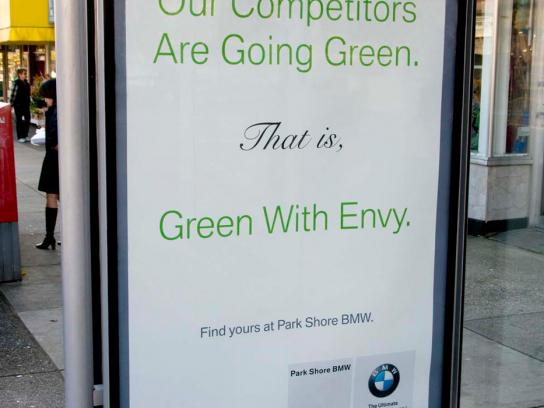 BMW Outdoor Ad -  Envy