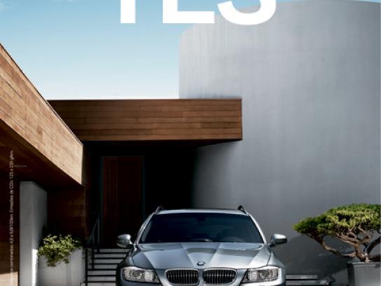 BMW Print Ad -  Yes