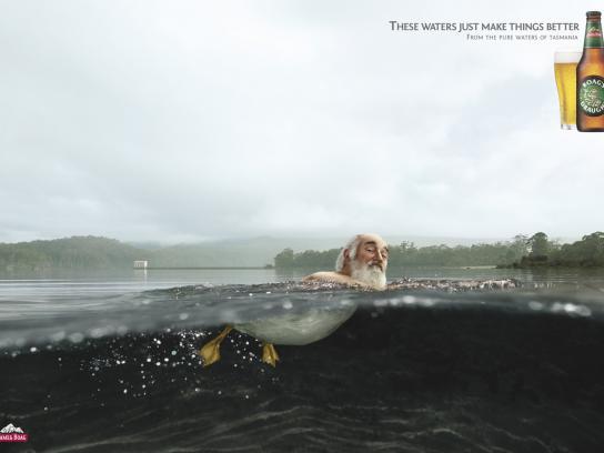 Boags Print Ad -  Duck