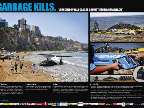 Municipalidad de Miraflores Ambient Ad -  Launched Whale