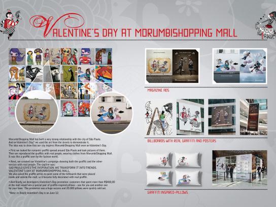 Morumbi Ambient Ad -  Valentine's Day