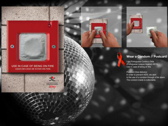 Portuguese League Against Aids Direct Ad -  Wear a Condom