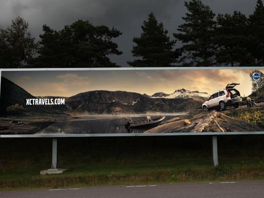 Volvo Outdoor Ad -  Boat