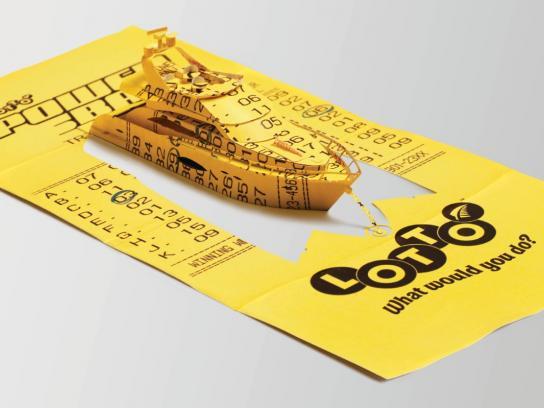Lotto Print Ad -  Boat