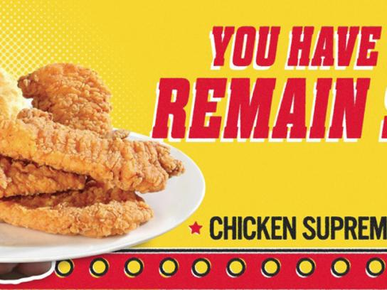 Bojangles' Outdoor Ad -  Right