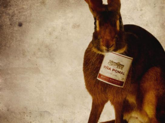 Bodegas Bilbainas Print Ad -  Rabbit