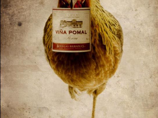 Bodegas Bilbainas Print Ad -  Rooster