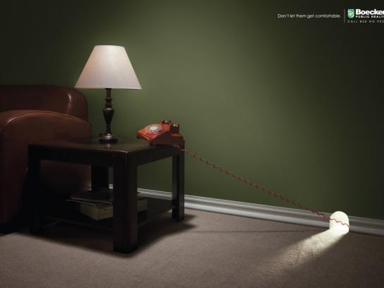 Boecker Print Ad -  Telephone