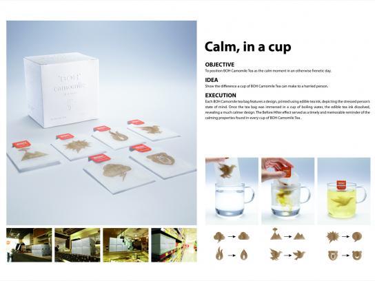 Boh Direct Ad -  Calm Tea Bags