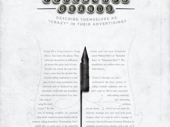 Bohan Print Ad -  Fireworks