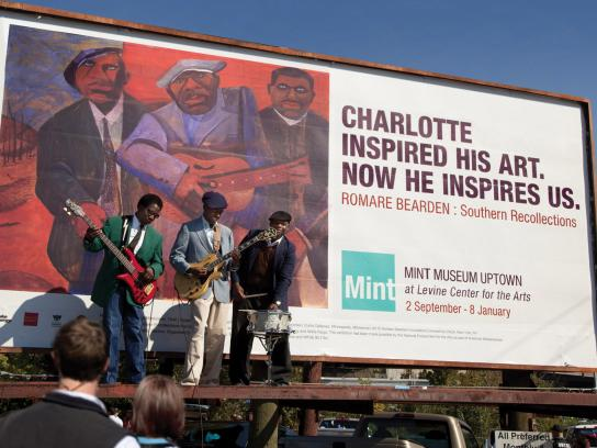 The Mint Museum Outdoor Ad -  Band