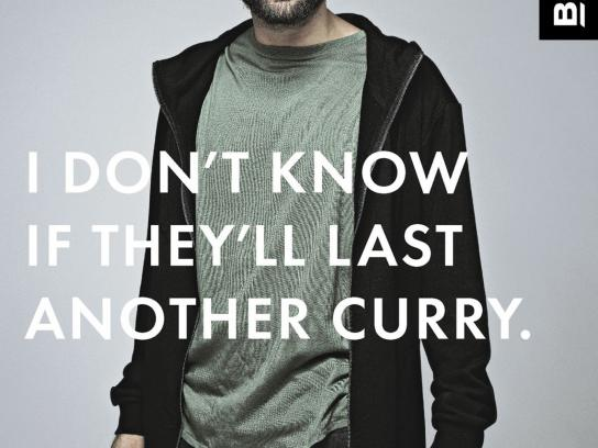 Bonds Print Ad -  Curry