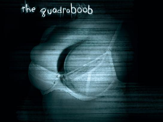 The Boobie Trap Outdoor Ad -  The quadraboob